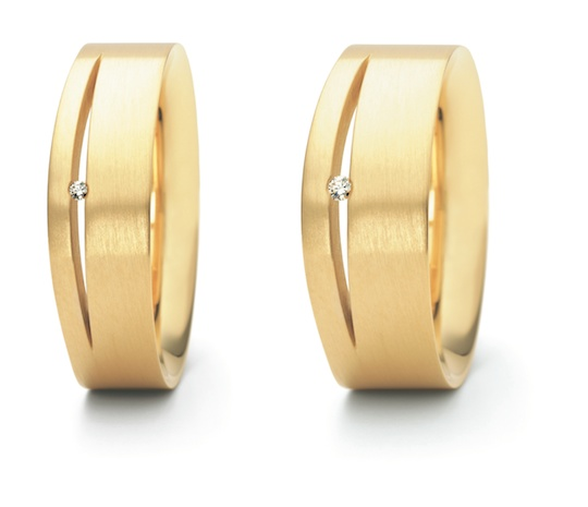 Designer: Niessing - 21FONTANA in 18ct. Gold und 950 Platin
