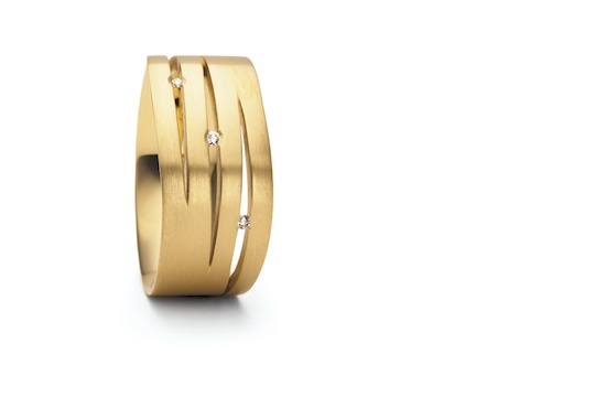 Designer: Niessing - 40FONTANA in 18ct. Gold und 950 Platin